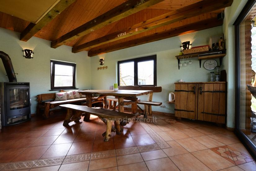 Villa Grutas ezera krastā - pirts ar kublu, brīvdienu māja - 7