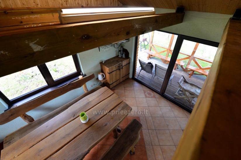 """Villa """"Ilgio"""" ezera krastā - pirts ar kublu, brīvdienu māja - 8"""