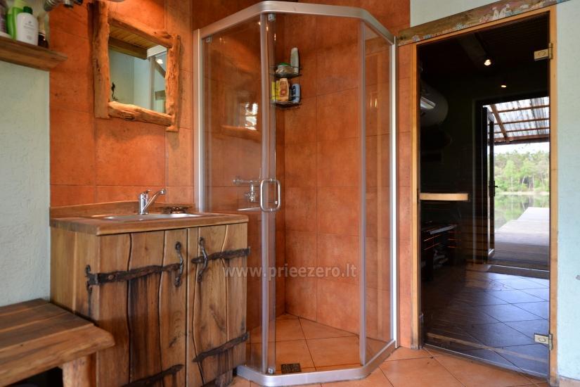 Villa Grutas ezera krastā - pirts ar kublu, brīvdienu māja - 9