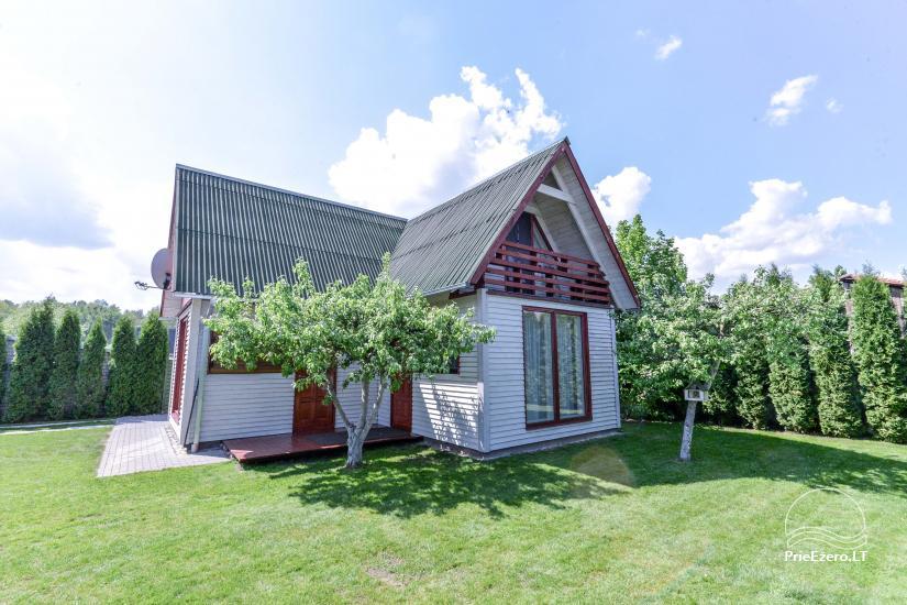 Privātā koka māja ģimenei Druskininkai - 21
