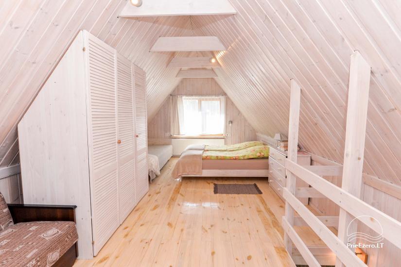 Privātā koka māja ģimenei Druskininkai - 28