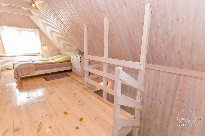 Privātā koka māja ģimenei Druskininkai - 30