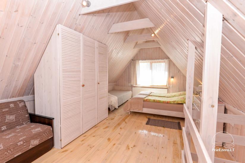 Privātā koka māja ģimenei Druskininkai - 33