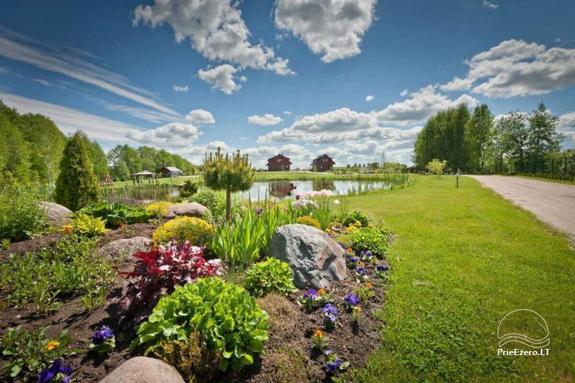 Lauku māja Vila Viesai ezera krastā - villas, brīvdienu mājas ar saunām Traku rajonā - 6
