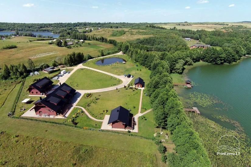 Lauku māja Vila Viesai ezera krastā - villas, brīvdienu mājas ar saunām Traku rajonā - 3