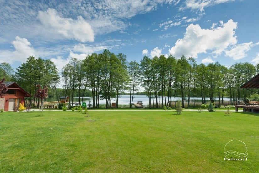 Lauku māja Vila Viesai ezera krastā - villas, brīvdienu mājas ar saunām Traku rajonā - 7