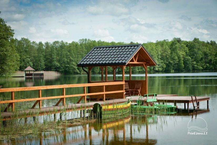 Lauku māja Vila Viesai ezera krastā - villas, brīvdienu mājas ar saunām Traku rajonā - 8