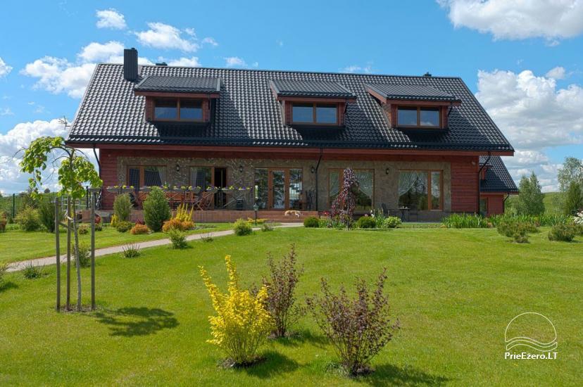 Lauku māja Vila Viesai ezera krastā - villas, brīvdienu mājas ar saunām Traku rajonā - 20