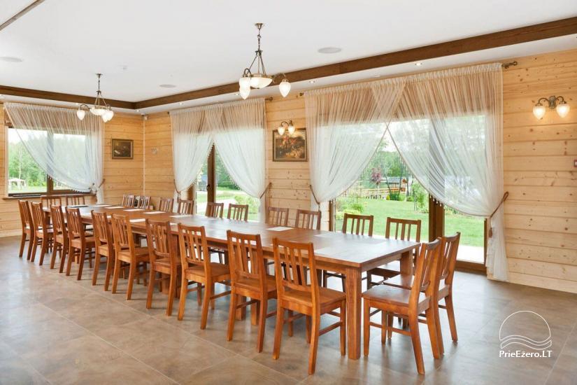 Lauku māja Vila Viesai ezera krastā - villas, brīvdienu mājas ar saunām Traku rajonā - 23