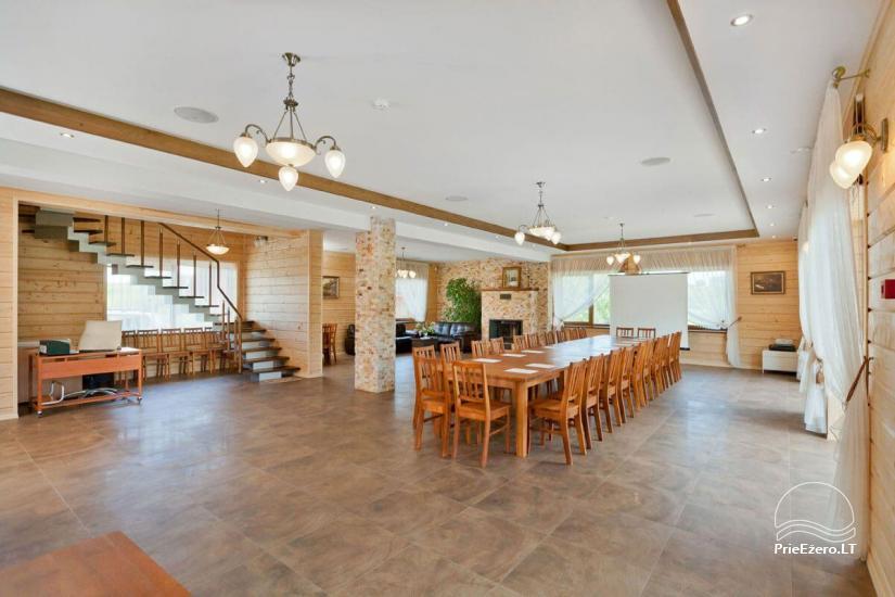 Lauku māja Vila Viesai ezera krastā - villas, brīvdienu mājas ar saunām Traku rajonā - 24
