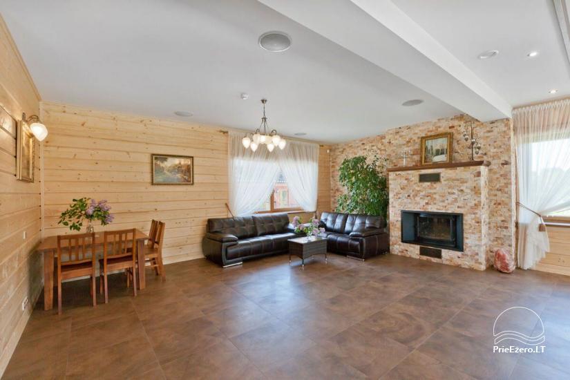 Lauku māja Vila Viesai ezera krastā - villas, brīvdienu mājas ar saunām Traku rajonā - 25
