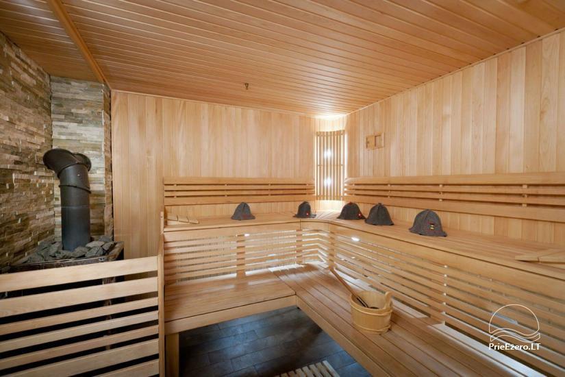 Lauku māja Vila Viesai ezera krastā - villas, brīvdienu mājas ar saunām Traku rajonā - 31