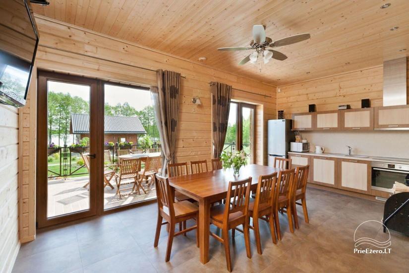 Lauku māja Vila Viesai ezera krastā - villas, brīvdienu mājas ar saunām Traku rajonā - 32