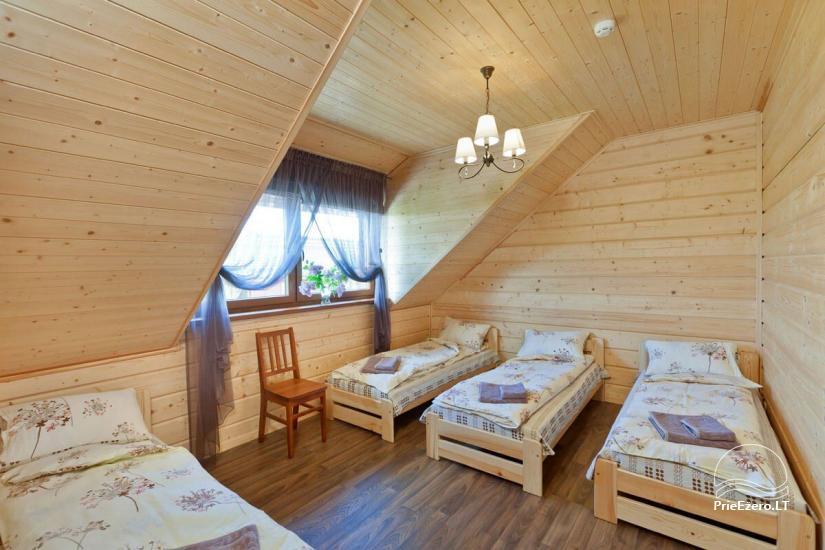 Lauku māja Vila Viesai ezera krastā - villas, brīvdienu mājas ar saunām Traku rajonā - 33