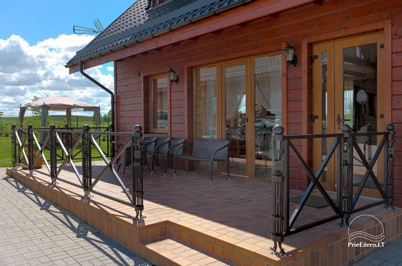 Lauku māja Vila Viesai ezera krastā - villas, brīvdienu mājas ar saunām Traku rajonā - 36