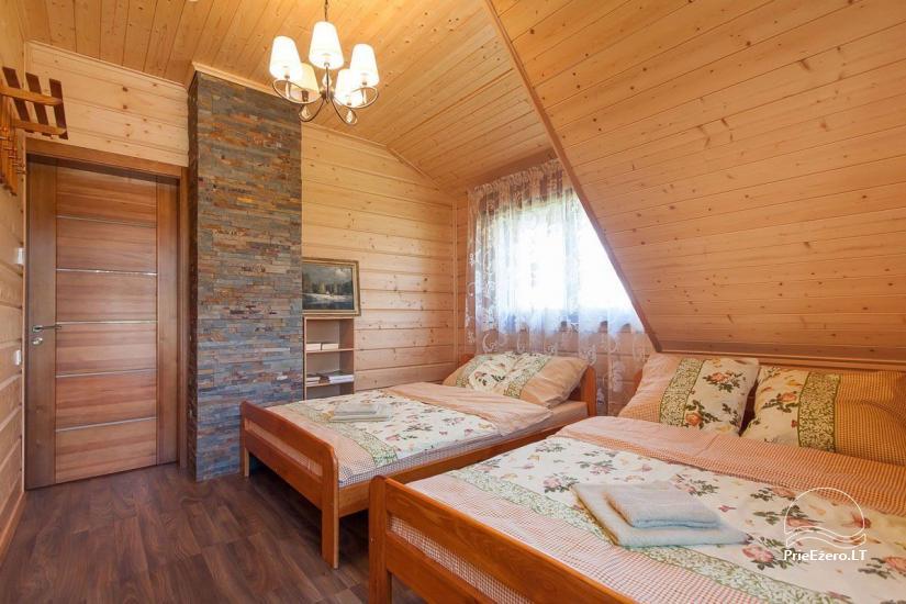 Lauku māja Vila Viesai ezera krastā - villas, brīvdienu mājas ar saunām Traku rajonā - 44
