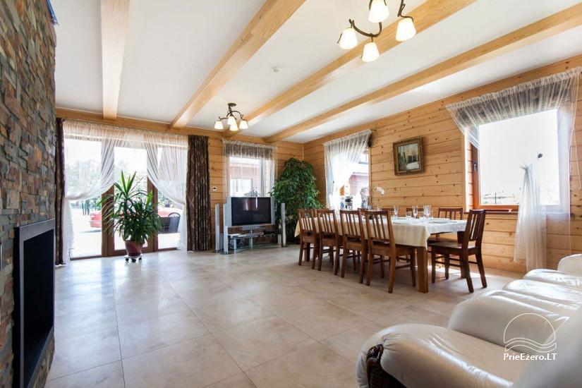 Lauku māja Vila Viesai ezera krastā - villas, brīvdienu mājas ar saunām Traku rajonā - 37