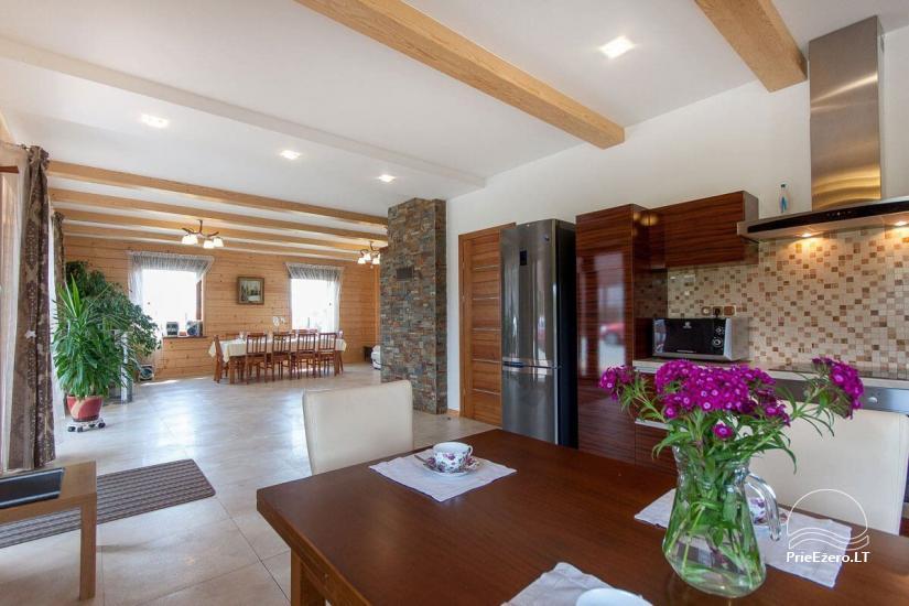 Lauku māja Vila Viesai ezera krastā - villas, brīvdienu mājas ar saunām Traku rajonā - 39