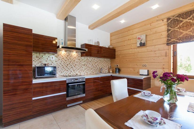 Lauku māja Vila Viesai ezera krastā - villas, brīvdienu mājas ar saunām Traku rajonā - 40