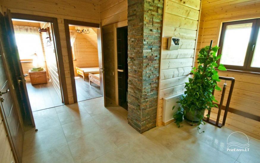 Lauku māja Vila Viesai ezera krastā - villas, brīvdienu mājas ar saunām Traku rajonā - 41
