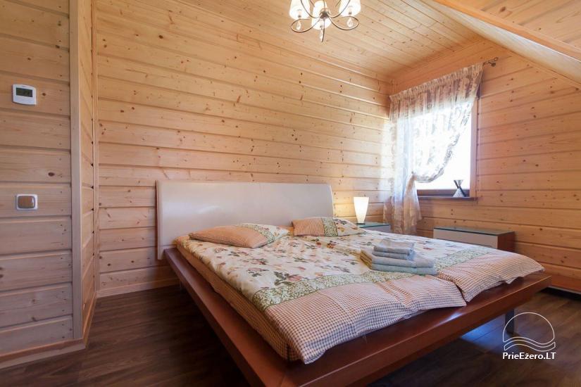 Lauku māja Vila Viesai ezera krastā - villas, brīvdienu mājas ar saunām Traku rajonā - 42