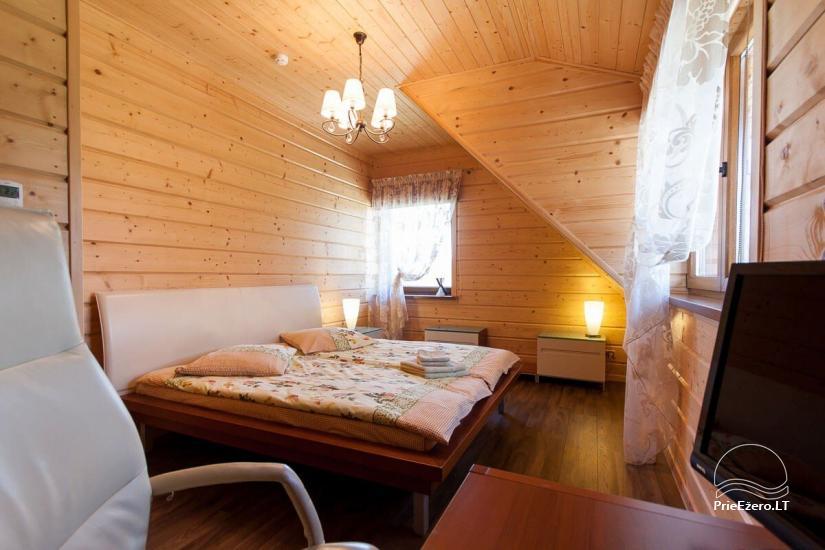 Lauku māja Vila Viesai ezera krastā - villas, brīvdienu mājas ar saunām Traku rajonā - 43