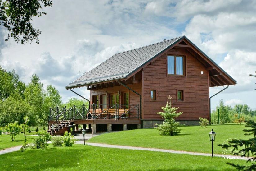 Lauku māja Vila Viesai ezera krastā - villas, brīvdienu mājas ar saunām Traku rajonā - 46