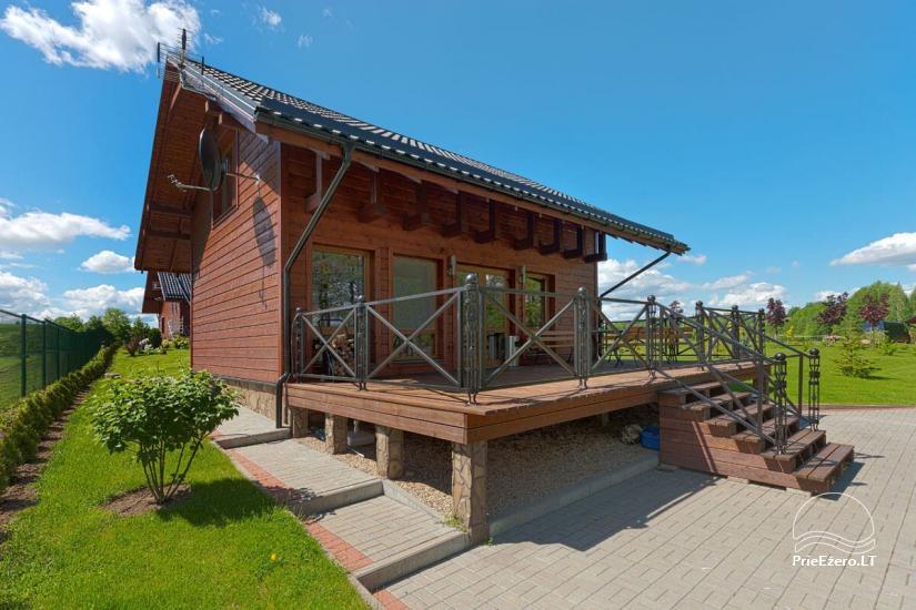 Lauku māja Vila Viesai ezera krastā - villas, brīvdienu mājas ar saunām Traku rajonā - 47