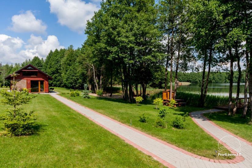 Lauku māja Vila Viesai ezera krastā - villas, brīvdienu mājas ar saunām Traku rajonā - 48
