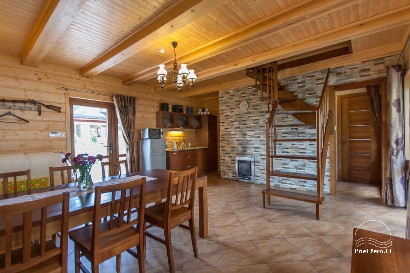 Lauku māja Vila Viesai ezera krastā - villas, brīvdienu mājas ar saunām Traku rajonā - 50