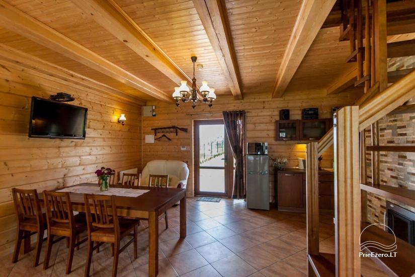 Lauku māja Vila Viesai ezera krastā - villas, brīvdienu mājas ar saunām Traku rajonā - 51