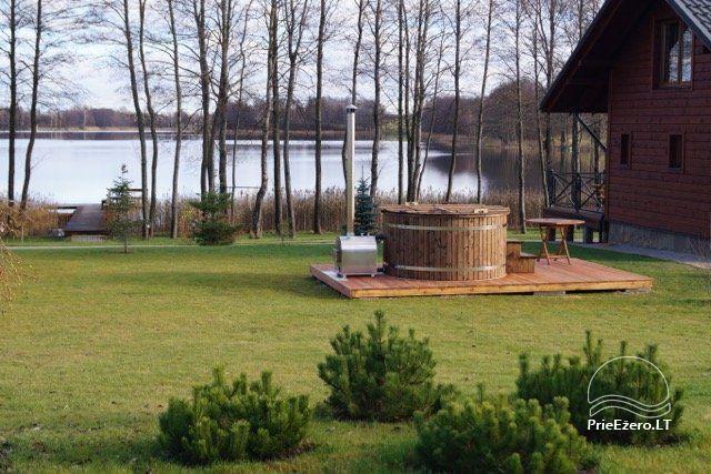 Lauku māja Vila Viesai ezera krastā - villas, brīvdienu mājas ar saunām Traku rajonā - 58