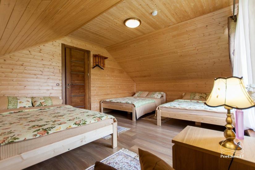 Lauku māja Vila Viesai ezera krastā - villas, brīvdienu mājas ar saunām Traku rajonā - 54