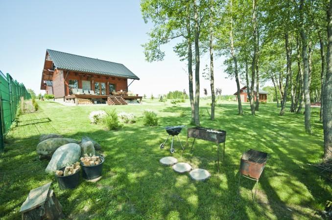 Lauku māja Vila Viesai ezera krastā - villas, brīvdienu mājas ar saunām Traku rajonā - 9