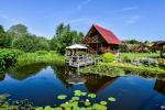 Lauku sēta klusā atpūta pie ezera Plateliai