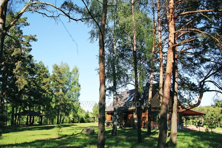Radviliu sodyba in Anykščiai zonā, pie ezera - 12