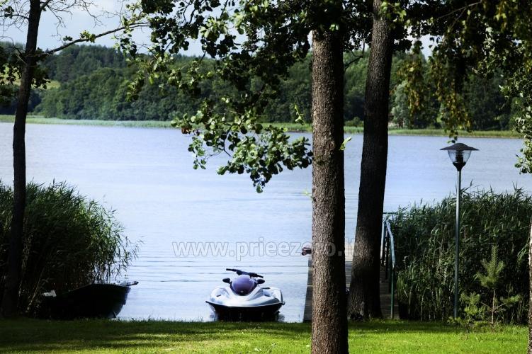 Radviliu sodyba in Anykščiai zonā, pie ezera - 17