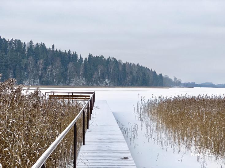 Radviliu sodyba in Anykščiai zonā, pie ezera - 36