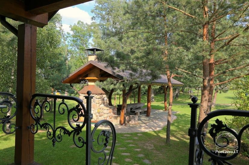 Radviliu sodyba in Anykščiai zonā, pie ezera - 25