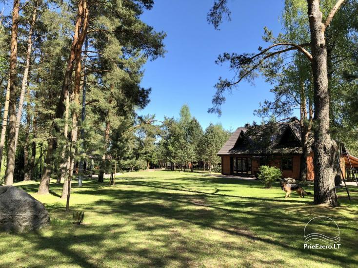 Radviliu sodyba in Anykščiai zonā, pie ezera - 28