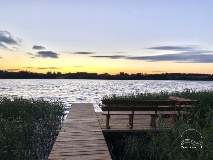 Radviliu sodyba in Anykščiai zonā, pie ezera - 40