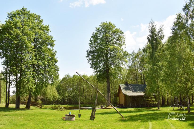 Lauku sēta Adomėnų sodyba - klusa, koku ieskauta Molētu rajonā - 20