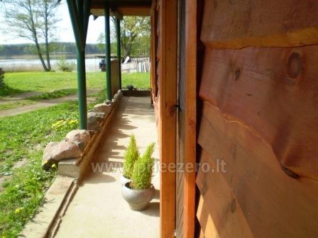 Brīvdienu māja sētā uz ezera krastā Vyšnia - 8