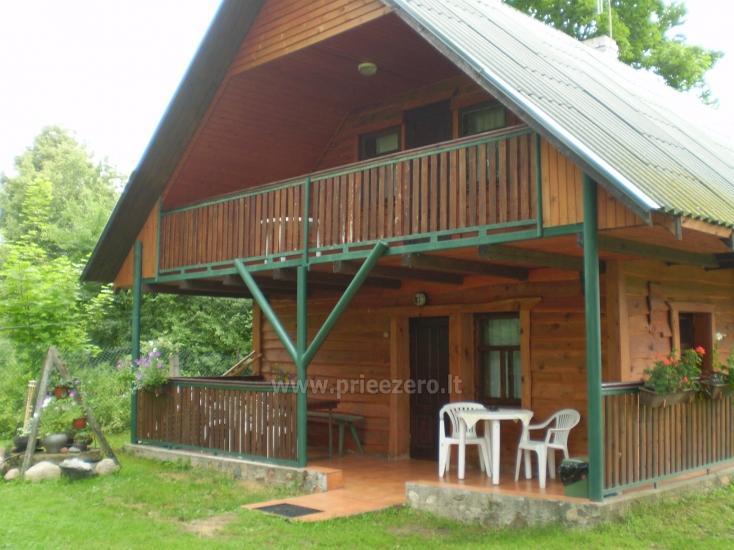 Brīvdienu māja sētā uz ezera krastā Vyšnia - 1