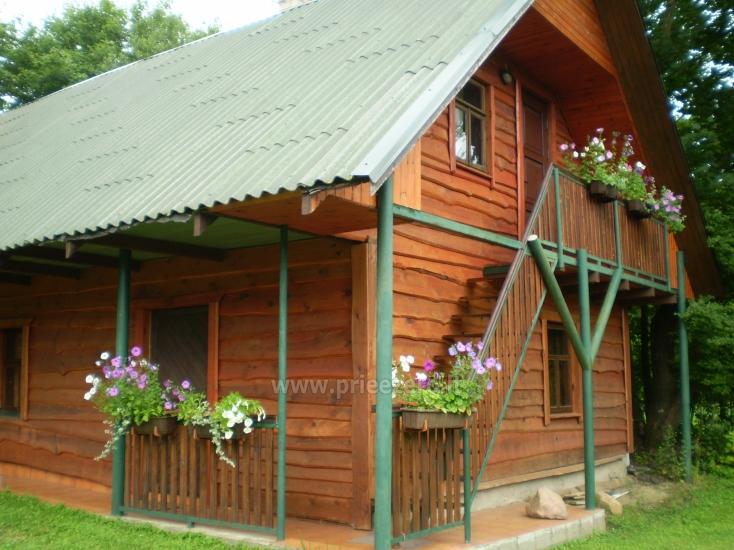 Brīvdienu māja sētā uz ezera krastā Vyšnia - 5
