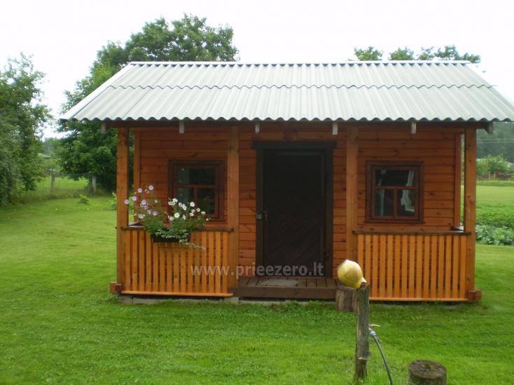 Brīvdienu māja sētā uz ezera krastā Vyšnia - 12