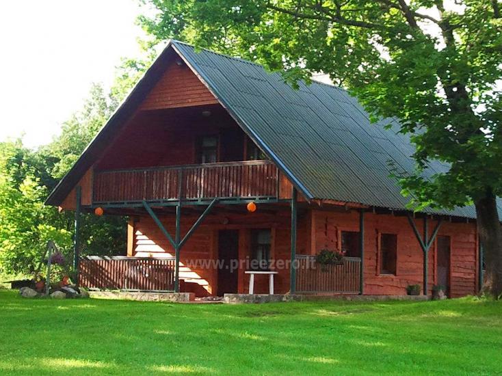 Brīvdienu māja sētā uz ezera krastā Vyšnia - 4