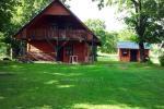 Brīvdienu māja sētā uz ezera krastā Vyšnia - 3