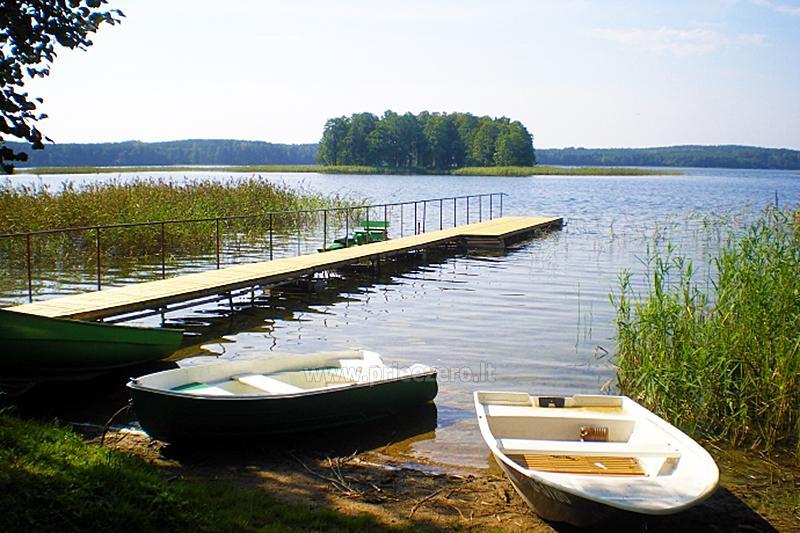 Brīvdienu māja sētā uz ezera krastā Vyšnia - 14