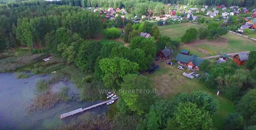 Brīvdienu māja sētā uz ezera krastā Vyšnia - 2